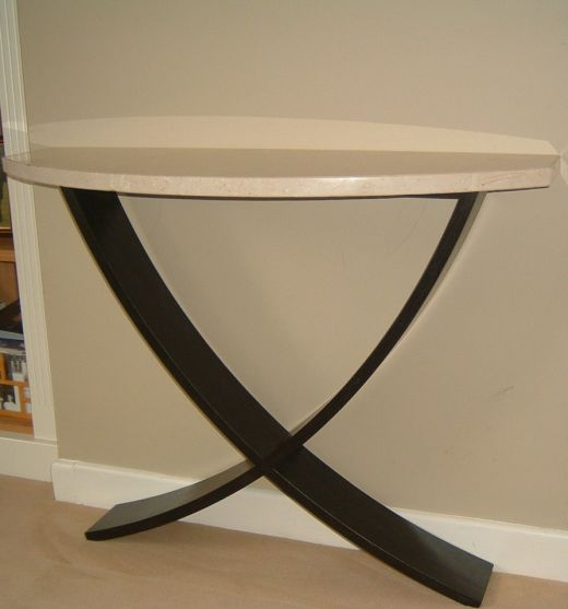 Tables Contemporary Console Tables Handcrafted Hardwood