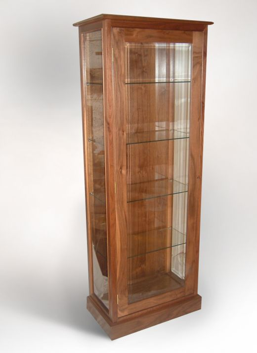 Cabinets Contemporary Display Cabinet Handcrafted Hardwood Furniture