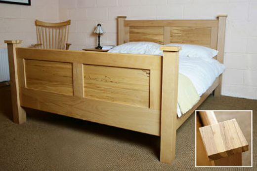 Clearance Items Contemporary Bed Handcrafted Hardwood Furniture